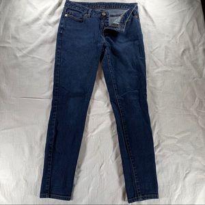 Michael kors blue jeans size 4